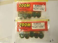 Zoom Small Salty Chunk, Rootbeer Pep/Green, #027-097, 10 Total Chunks (New)
