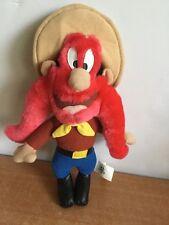 "Looney Tunes Yosemite Sam Plush Vintage Stuffed Toy 10"" Warner Bros ACE"