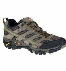 Merrell Moab 2 Ventilator Gore-Tex Vibram Brown Hiking Shoes Mens Size 10