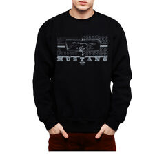 Ford Mustang Grille Men Sweatshirt S-3XL New