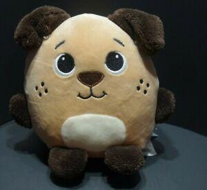 Spark Create Imagine Puppy Dog Plush Velvety Stuffed Animal Lovey