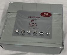 AQ Textiles Bradford Green King 800 Thread Ct Luxury Sateen 6 Pc Sheet Set