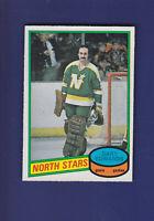 Gary Edwards 1980-81 O-PEE-CHEE OPC Hockey #335 (NM) Minnesota North Stars