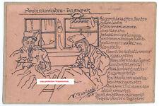 K.u.k. Postkarte,Zeichnung,Soldat,Italien,kuk postcard,hand drawing,soldier,ww1