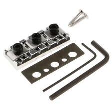 NEW LOCKING NUT 42,5mm chrome avec réglage hauteur pour manches de guitare