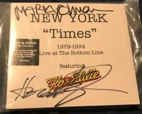 """Flo & Eddie New York """"Times"""" Live At The Bottom Line 1979-94 CD SIGNED Zappa"""