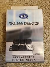 New*JBJ Rimless Desktop Replacement Filter 4pk*4-Stage Filter*RL-6-8-10*CP/FP
