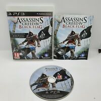 Assassin's Creed IV: Black Flag (PS3) PEGI 18+ Sony PlayStation 3 With Manual.
