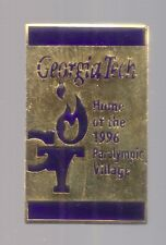 1996 Georgia Tech Atlanta Paralympic Village Olympic Venue Pin