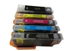 5 Combo Refillable Ink Cartridges Epson XP-610 XP-700 XP-810 XP-820 273 273XL