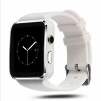 Smartwatch X6 Bluetooth Uhr Curved Display Android iOS Samsung iPhone HTC Huawei