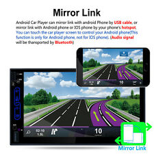 MP5 Car Player Android 6.0 Media GPS Navigation 7.0Inch HD Touch Screen RK-A705