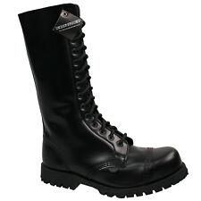 Underground Shoes Unisex 14-loch Ranger Schwarz 7723 Springerstiefel Boot 5113