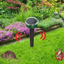 Practical Ultrasonic Solar Power Snake Mouse Pest Rodent Repeller Garden Yards S