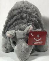 """Aurora Flopsies ARMADILLO 8"""" Plush NWT Plush Stuffed Animal Valentine Gift Toy"""