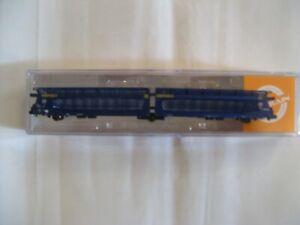 MFTrain échelle N wagon porte autos GEFCOavec grilles
