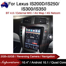 """10.4"""" Tesla Style Android Car Stereo GPS For Lexus IS200D IS250 IS300 IS350"""
