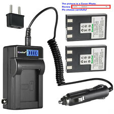 Kastar Battery LCD AC Charger for NB-1L NB-1LH & Canon Digital IXUS 500 Camera