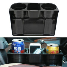 New Universal Black 2 Cup Holder Drink Beverage Seat wedge Car Auto Truck Mount