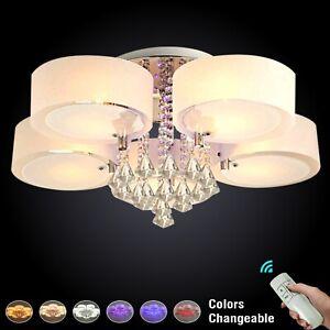 LED Crystal Ceiling Light Chandelier Lamp Kitchen Bed Modern Light Living room