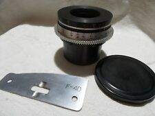 OKC1-40-1 2.5/40 mm Russian LENKINAP lens for BNC mount Cine movie camera  8348