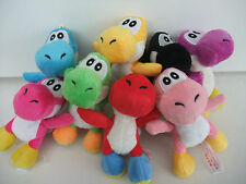 Yoshi  Super Mario Soft Toy 10cm Qty 7 Mixed Colour