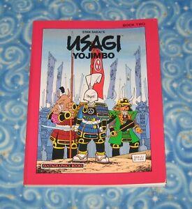 Fantagraphics Books Usagi Yojimbo Book Two Graphic Novel Stan Sakai 1999 TPB