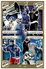 1999-00 Kraft Dinner Wayne Gretzky Retirement Special Redemption Postcard Set(4)