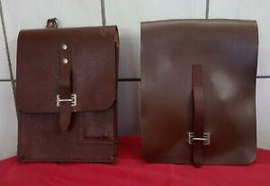 Zwei originale Kartentaschen DDR MDI NVA VP Tasche Umhängetasche, unbenutzt