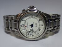 Prague Men's Stainless Steel Watch Alarm Quartz - Working