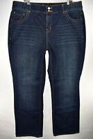 Lane Bryant Boot Cut Tighter Tummy Tech Womens Jeans Size 20 Long 18L Stretch