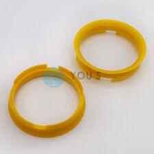 2 x Centering Ring Distance Alloy Wheels Z14D 72,6 - 65,1 mm Brock, Keskin - NEW