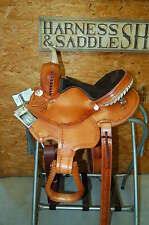 "13"" GW CRATE YOUTH BARREL SADDLE NEW FREE SHIP CUSTOM MADE IN ALABAMA USA NEW"