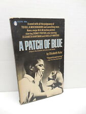 Patch Of Blue Movie Adaption Paperback Book Sidney Poitier Photo Cover 1961