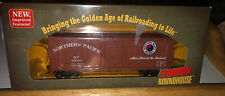 ROUNDHOUSE #84667 NORTHERN PACIFIC RAILWAY 40' DOUBLE SHEATHED BOXCAR #40503