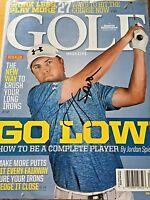 Jordan Spieth Autograph Golf Magazine Signed PGA JSA