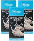 3-Pack, Hagerty Silversmith's Gloves (3 Pair) Easily Polish and Protect Silver