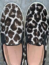 SALE @ TOP SHOP topshop Leopard Jaguar Cheetah Loafers Ballet Flats 6.5 ❤️sj17j4