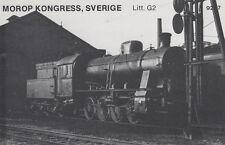 AK UNREAD Morop Congress Sweden litt. G2 Baden Model järnvägs (g2571)