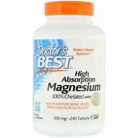 Doctor's Best High Absorption Magnesium Tablets 240 Pieces