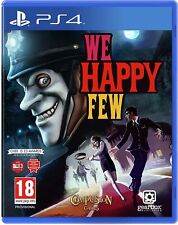 PS4 Game - WE HAPPY FEW - Playstation 4 Four
