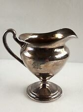 Vintage Colonial Silver Company Footed Creamer 1696