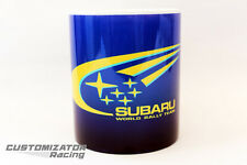 MUG TAZA TASSE CUP SUBARU IMPREZA STI WRC RALLY WRX COLIN MCRAE PERSONALIZABLE