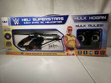 2014 Wwf Hulk Hogan 3.5Ch Gyro Rc Helicopter New Sealed! Rare!