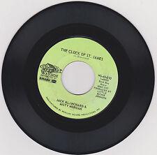 JACK BLANCHARD & MISTY MORGAN - CLOCK OF ST JAMES - TENNESSEE BIRD WALK - 45 RPM