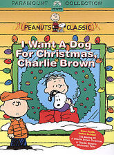 I Want a Dog for Christmas, Charlie Brown (DVD, 2004, Checkpoint)