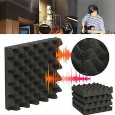 50x50CM Studio Acoustic Absorption Foam Sound Noise Insulation Panel Tile KTV
