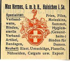 MAX Kermes GmbH Hainichen I. sa. associazione materia alieno trademark 1912