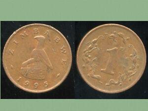 ZIMBABWE  1 cent 1995   ANM