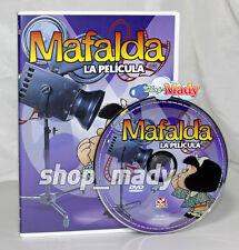 Mafalda la Película en Español Latino Region 1 y 4 NTSC DVD